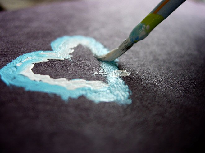 Image result for paint brush and heart